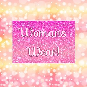 Woman's Wear! 🚫DO NOT SHARE THIS BANNER🚫